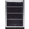 Frigidaire 4.6-cu ft Stainless Steel Freestanding Beverage Center