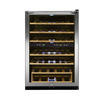 Frigidaire 38-Bottle Stainless Steel Dual Zone Wine Chiller