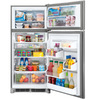 Frigidaire Gallery 18-cu ft Top-Freezer Refrigerator (Smudgeproof) ENERGY STAR