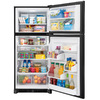 Frigidaire Gallery 20.4-cu ft Top-Freezer Refrigerator (Black) ENERGY STAR