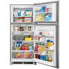 Frigidaire Gallery 20.4-cu ft Top-Freezer Refrigerator (SmudgeProof) ENERGY STAR