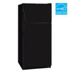 Frigidaire 20.6 cu ft Top-Freezer Refrigerator (Black) ENERGY STAR