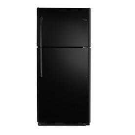 Frigidaire 18.2-cu ft Top-Freezer Refrigerator (Black)