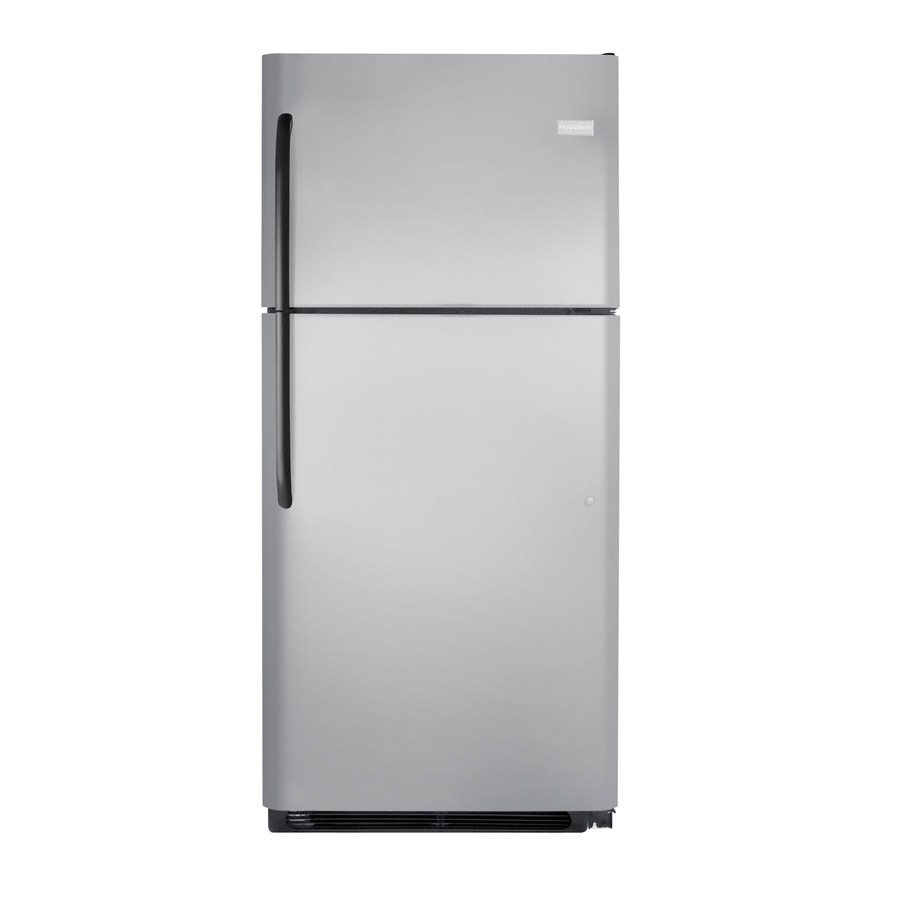 Shop Frigidaire 18 3 Cu Ft Top Freezer Refrigerator