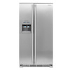 Electrolux ICON 22.6 cu ft Side-by-Side Counter-Depth Refrigerator (Stainless Steel) ENERGY STAR