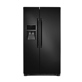 Frigidaire 22.6 cu ft Side-by-Side Refrigerator (Smooth Black) ENERGY STAR