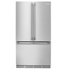 Electrolux Icon 22.5-cu ft Counter-Depth French Door Refrigerator with Single Ice Maker (Stainless Steel)