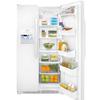 Frigidaire 22.07-cu ft Side-by-Side Refrigerator Single Ice Maker (White)
