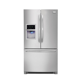Frigidaire Gallery 26.7-cu ft French Door Refrigerator with Dual Ice Maker (Stainless Steel) ENERGY STAR