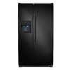 Frigidaire 26-cu ft Side-by-Side Refrigerator Single Ice Maker (Black)