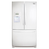Frigidaire Gallery 26.7-cu ft French Door Refrigerator with Dual Ice Maker (Smooth White) ENERGY STAR