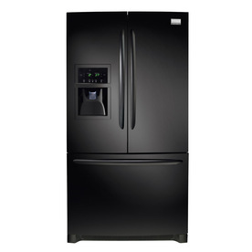 Frigidaire Gallery 26.7 cu ft French Door Refrigerator (Smooth Black) ENERGY STAR