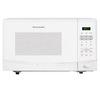 Frigidaire 0.9-cu ft 900-Watt Countertop Microwave (White)
