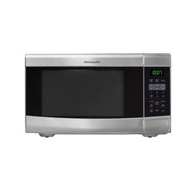 Frigidaire 1.1-cu ft 1100-Watt Countertop Microwave (Stainless Steel)