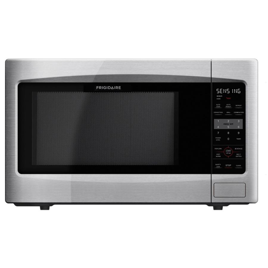 Frigidaire 2.2-cu ft 1,200-Watt Countertop Microwave (Stainless Steel ...