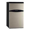 Frigidaire 3.1-cu ft Compact Refrigerator with Freezer Compartment (Silver Mist) ENERGY STAR