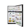 Frigidaire 20.6-cu ft Top-Freezer Refrigerator (Black)