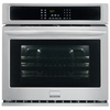 Frigidaire Gallery Self-Cleaning Convection Single Electric Wall Oven (Stainless Steel) (Common: 30-in; Actual 30-in)