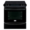 Frigidaire Gallery Smooth Surface 5-Element Slide-In Convection Electric Range (Black) (Common: 30-in; Actual 30-in)