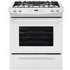 Frigidaire 4.5-cu ft Slide-In Gas Range (White) (Common: 30-in; Actual 30-in)