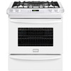 Frigidaire Gallery 4.5-cu ft Slide-In Convection Gas Range (White) (Common: 30-in; Actual 30-in)