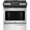 Frigidaire Gallery Self-Cleaning Convection Single Oven Dual Fuel Range (Stainless Steel) (Common: 30-in; Actual 30-in)