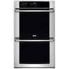 Electrolux Convection Single-Fan European Element Double Electric Wall Oven (Stainless Steel) (Common: 30-in; Actual: 30-in)