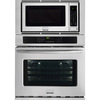 Frigidaire Gallery Self-Cleaning with Steam Microwave Wall Oven Combo (Stainless Steel) (Common: 30-in; Actual 30-in)