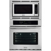 Frigidaire Gallery Self-Cleaning with Steam Microwave Wall Oven Combo (Stainless Steel) (Common: 27-in; Actual 27-in)