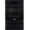 Frigidaire 24-in Self-Cleaning Single Gas Wall Oven (Black)