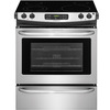 Frigidaire EasyCare Smooth Surface 4.6-cu ft Self-Cleaning Slide-In Electric Range (Stainless Steel) (Common: 30-in; Actual: 30-in)