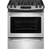 Frigidaire EasyCare 4.5-cu ft Self-Cleaning Slide-In Gas Range (Stainless Steel) (Common: 30-in; Actual: 30-in)