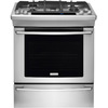 Electrolux 5-Burner 4.2-cu ft Slide-In Convection Gas Range (Stainless Steel) (Common: 30-in; Actual 30-in)