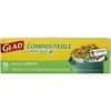 Glad 10-Count 33-Gallon Outdoor Trash Bags