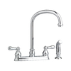American Standard Hampton 2-Handle High-Arc Kitchen Faucet with Side Spray