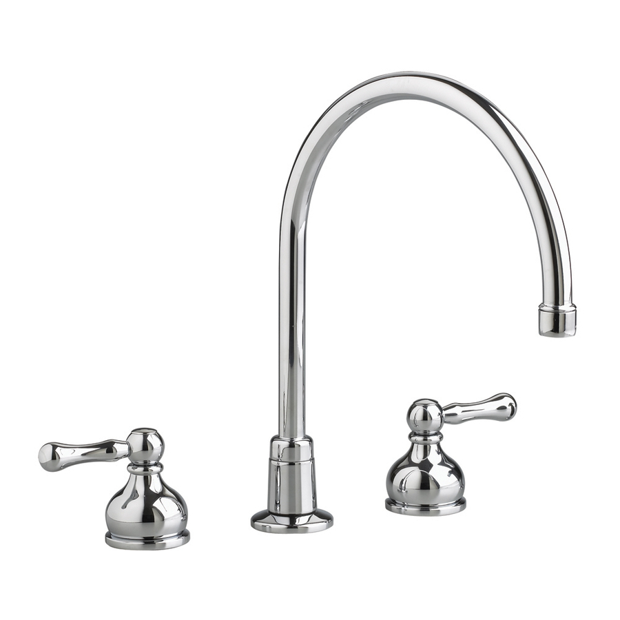 american standard amarilis polished chrome high arc kitchen faucet