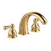 American Standard Hampton Polished Brass 2-Handle Fixed Deck Mount Tub Faucet