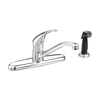 American Standard Colony Polished Chrome 1-Handle Low-Arc Kitchen Faucet with Side Spray