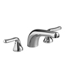 American Standard Colony Soft Polished Chrome 2-Handle Fixed Deck Mount Tub Faucet