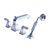 American Standard Townsquare 2-Handle Fixed Deck Mount Bathtub Faucet