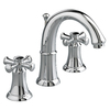 American Standard Portsmouth Polished Chrome 2-Handle Widespread WaterSense Bathroom Sink Faucet (Drain Included)