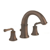 American Standard Portsmouth Oil Rubbed Bronze 2-Handle Fixed Deck Mount Tub Faucet