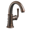 American Standard Portsmouth Oil-Rubbed Bronze 1-Handle Single Hole WaterSense Bathroom Sink Faucet (Drain Included)