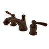 AquaSource Artesian Bronze 2-Handle Widespread WaterSense Bathroom Sink Faucet (Drain Included)