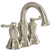 American Standard Ocean Grove Satin Nickel 2-Handle 4-in Centerset WaterSense Bathroom Sink Faucet (Drain Included)