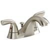 American Standard Covina Satin Nickel 2-Handle 4-in Centerset WaterSense Bathroom Faucet (Drain Included)