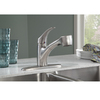 American Standard Edgemere Stainless Steel 1-Handle Pull-Out Kitchen Faucet