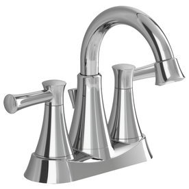 American Standard Avery Chrome 2-Handle 4-in Centerset WaterSense Bathroom Sink Faucet (Drain Included)