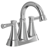 American Standard Avery Chrome 2-Handle 4-in Centerset WaterSense Bathroom Faucet (Drain Included)