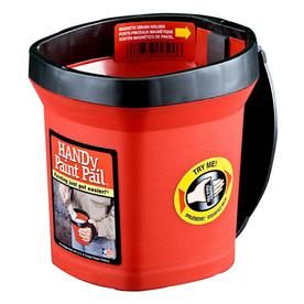 HANDy HANDy Paint Pail Disposable Paint Tray (Common: 5-in x 7-in; Actual 5.5-in x 7-in)